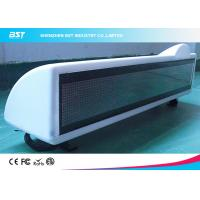 Buy cheap P6 Single Color Moving Scrolling Led Taxi Display Sign With GSM / GPRS / GPS from wholesalers
