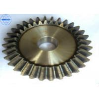 Buy cheap Left Hand Direction Brass Screw / Spiral Bevel Gear High Precision Transmission from wholesalers