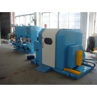 Blue Color Single Twist Buncher Machine , High Speed Wire And Cable Machinery