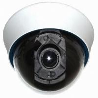Buy cheap DC12V high definition Plastic Dome Camera 480 / 540 / 600 TVL 22 pieces , 5mm IR-Led from wholesalers