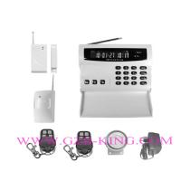 Buy cheap GSM home alarm system with color LCD show screen and keyboard on the host product