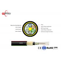 Buy cheap G652D Aerial Optical Network Cable , 96 Cores Outdoor ADSS Fiber Optic Network Cable from wholesalers