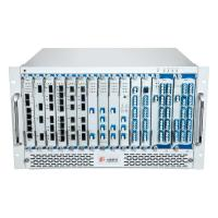 Quality 6U CWDM/DWDM/OTN 16 Slots Chassis 48 Channel Access 2000km Transmission Distance for sale