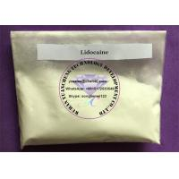 Buy cheap Supply 99.5% Assay 137-58-6 Local Anesthetic Lidocaine Raw Powder Dosage And Cycle from wholesalers