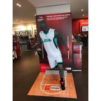 Buy cheap Jolly mannequins-grey matte male sport mannequin/playing basketball mannequin H-6 with head from wholesalers