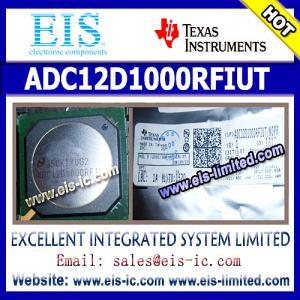 Buy cheap ADC12D1000RFIUT - TI - ADC12D1600/1000RF 12-Bit, 3.2/2.0 GSPS RF Sampling ADC product