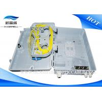 Buy cheap FTTH Plastic Fiber Optic Fiber Termination Kits 1x16 Splitter Distribution Box from wholesalers