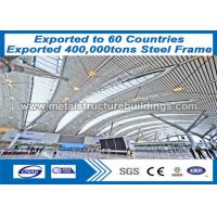 Buy cheap Welded Steel Frame Structure / Welded H Section Metal Frame Buildings from wholesalers