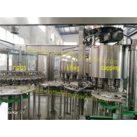 Buy cheap Still Water Automatic Bottle Filling Machine Capacity 8000 - 10000BPH CGF24-24-8 from wholesalers