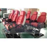 Buy cheap 3D / 4D / 9D Motion Theater Chair Custom Color with Safe Belt product