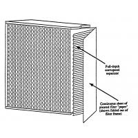 Buy cheap ZS-GW H14 Aluminum frame Hepa filter for HVAC system product