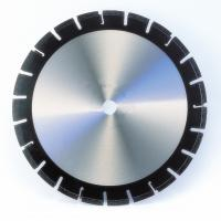 Buy cheap Laser Welded Synthetic Diamond Asphalt Cutting Blade With Undercutting Protections from wholesalers