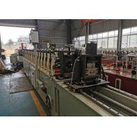 Buy cheap 0.8-2 Mm Hgh Hydraulic Cut Type Door Shutter Roll Forming Machine Full Automatic product