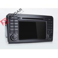 Buy cheap Mercedes Benz Car Audio Gps Navigation , Mercedes Ml Dvd Player With Dual CANbus from wholesalers