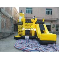 Buy cheap 5 * 5 * 4.5 m Colorful Inflatable Combo Bouncers Jumping Castle With En 14960 from wholesalers