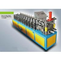 Buy cheap Thickness 0.43mm Stud And Track Roll Forming Machine Profile Size 80 X 30mm from wholesalers