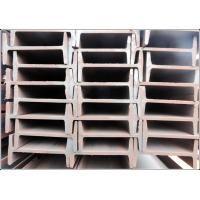 Buy cheap Hot Rolled JIS G3101 SS400 Steel I Beams with Black / Galvanizing Surface from wholesalers