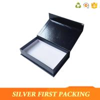 Buy cheap Silver First  accept custom made logo printing decorative book shape magntic paper storage gift boxes from wholesalers