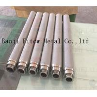 Buy cheap Stainless steel powder sintering filter Stainless steel powder sintering filter material w from wholesalers