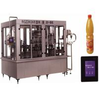 Buy cheap Stainless Steel Beverage Filling Machine 150 ML - 5000 ML Capacity With PVC Plastic Bottle from wholesalers