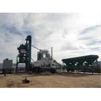 Buy cheap 200KW Installed Power Asphalt Production Plant , Mobile Mixing Plant 6.5KG Diesel Comsumption from Wholesalers