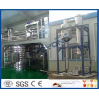 Buy cheap Liquid Beverage Juice Manufacturing Equipment , CIP Cleaning Juice Manufacturing Machines from wholesalers