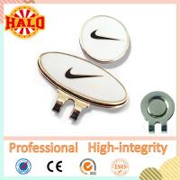 Buy cheap Metal Hard enamel Magnetic Golf Ball Marker With Hat Clip from wholesalers