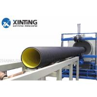 Buy cheap SBG250 Siemens Motor Corrugated Pipe Machine, PP / HDPE Pipe Extrusion Line from wholesalers