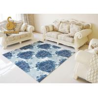 100% Polyester Printed Waterproof Rugs Indoor Three Dimensional Carved Carpets