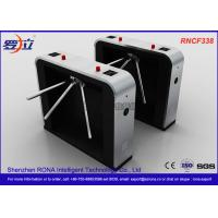 Buy cheap Semi - Automatic Tripod Turnstile Gate , Pedestrian Access Waist High Turnstiles product