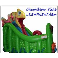 Buy cheap Durable PVC Tarpaulin Inflatable Slide Giant Commercial Blow Up Slippery Slide from wholesalers