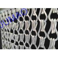 Buy cheap Silver Color Aluminum Metal Chain Link Curtains Durable For Ceiling / Wall product