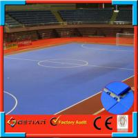 Buy cheap Waterproof Soccer Mats , Interlocking Gym Floor Tiles With Resilient Surface from wholesalers