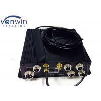Buy cheap 4 Channel CCTV DVR for Vehicle Security Solution with GPS tracking 3G live video Wifi from wholesalers