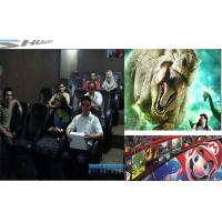 Buy cheap Customized 4D Movie Theater With Simulator System, 2 / 3 Seats / Set Motion Chair product