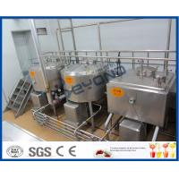 Buy cheap 5000L/H Milk Production Plant /Beverage Processing Equipment With Bottle Package from wholesalers