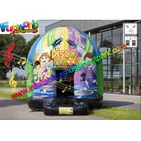 Buy cheap Commercial Grade Huge Inflatable Disco For Party , Beautiful Printing from wholesalers