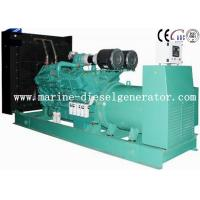 Buy cheap 1500KVA Cummins Diesel Generator Turbo Charging With Inter - Cooling By Electric Start from wholesalers