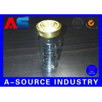 Buy cheap Clear Adhesive 10ml Vial Labels Water Bottle Labels Transparent Ampoule Label Printing from wholesalers