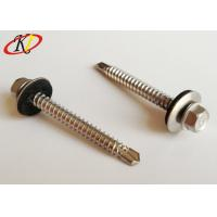 Buy cheap Hex Head with EPDM Washer Stainless Steel Self Drilling Roofing Screws from wholesalers