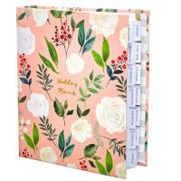 Buy cheap Custom Size Wedding Planner And Organizer Lined Inner Printing Beautiful Cover from wholesalers