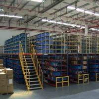 Buy cheap Heavy Duty Warehouse Multi-tier Racking Steel Mezzanine Floor Rack Platform System from wholesalers