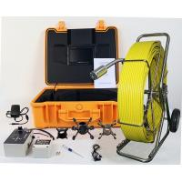 Buy cheap video inspection robotic,pipe inspection robot with DVR from wholesalers