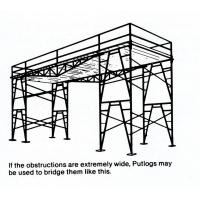 Buy cheap Adjustable Stackable Fast Lock 4' * 6' Shoring Scaffolding Heavy - Duty / Light - Duty from Wholesalers