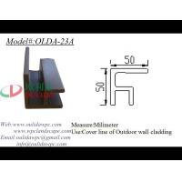 Buy cheap exterior wall cladding corner cover line OLDA-23A 50*50mm from wholesalers