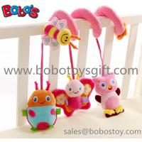 Buy cheap Cute Pink Animal Style Plush Baby Bed Hanging Toys with music box In High Quanlity from wholesalers