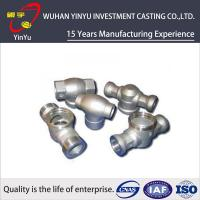 Buy cheap Customized Carbon Steel Pipe Fittings By Investment Casting And CNC Machining Process from wholesalers