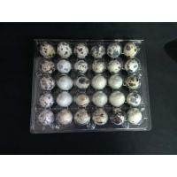 Buy cheap 30 Holes Clamshell clear transparent plastic PVC quail egg tray from wholesalers