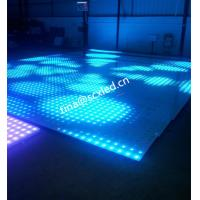 Buy cheap Rgb Club Dance Floor Hire , Durable Transparent Glass Disco Dance Floor Lighting Smd5050 from wholesalers