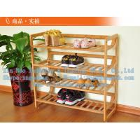 Buy cheap Bamboo shoe rack, bamboo shoe rack, wooden simple shoe rack from wholesalers